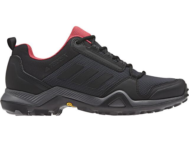 adidas TERREX AX3 Obuwie turystyczne Lightweight Kobiety, carbon/core black/active pink